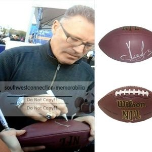 Howie Long Oakland LA Raiders Signed NFL Football